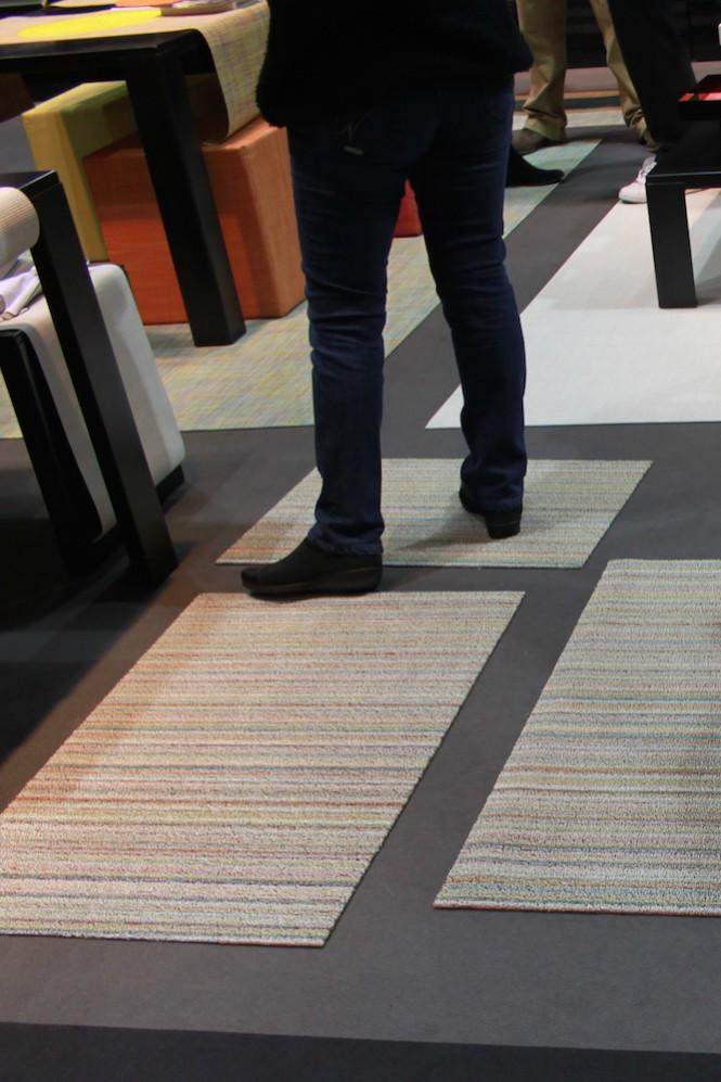 Fußmatten von Chilewich gibt es in vielen Größen, Farben und Mustern. Sie sind robust und langlebig.