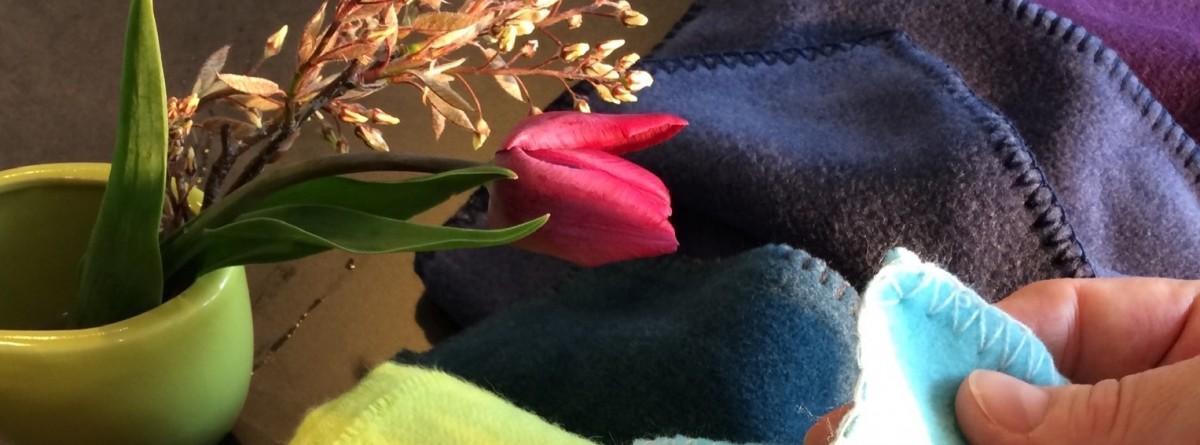 fleece decke viele farben