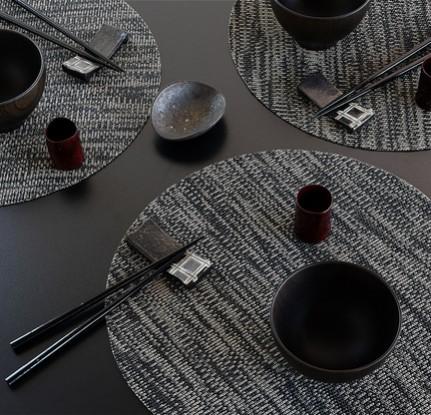 Lust auf Sushi? Tischsets von Chilewich passen zu chinesischem Essen, aber auch zu allem anderen!